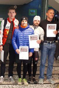 V. l. n. r.: Kevin Dürst, Wolfgang Thiem, Alexander Finsel und Holger Federmann