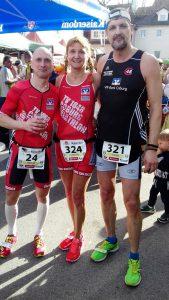 Von links: Marcus Beland, Christine Schrenker und Dieter Schöpf.