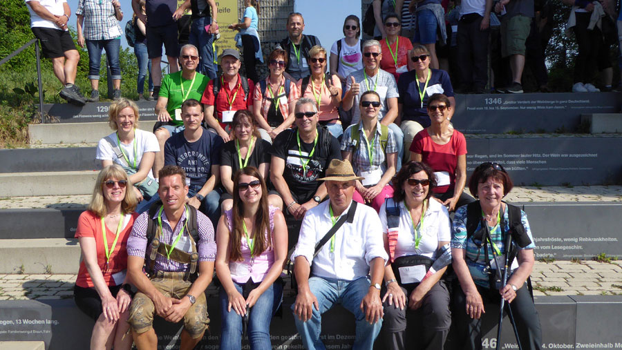 48er Gruppe Weinwanderung